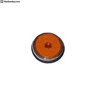 211945555A. Side Reflector With Base Gasket, Amber