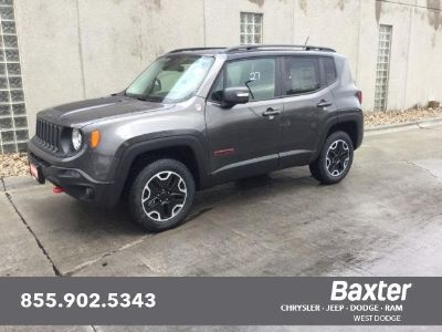 2017 Jeep Renegade Trailhawk (Granite Crystal Metallic Clearcoat)