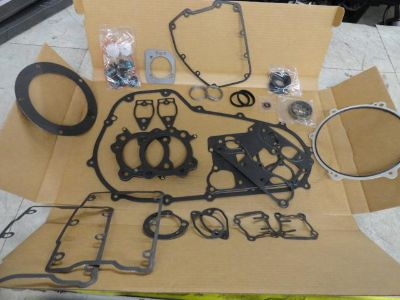 Purchase HARLEY 2007-2013 FLT FLH MODELS COMPLETE ENGINE REBUILD GASKET KIT STD BORE motorcycle in Alexandria, Virginia, US, for US $79.99
