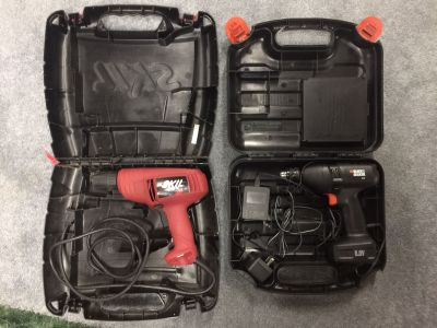 Power tools, $15 ea or $25 for set