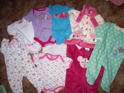 Baby Girls Clothes 0/3 months