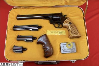 For Sale: Dan Wesson 22-V .22 Long Rifle Pistol Pack