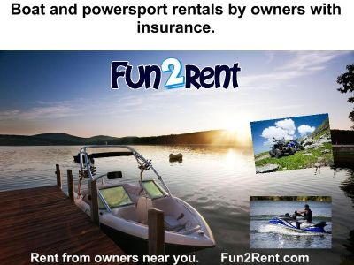 Boat, ATV, and Jet Ski Rentals By Owner's