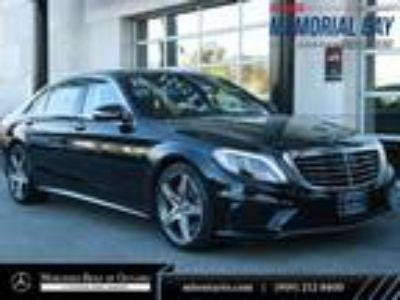 Used 2016 Mercedes-Benz S-Class Black, 20.8K miles