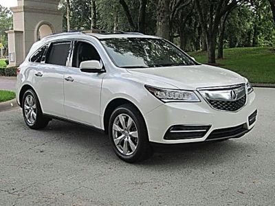 2016 Acura MDX Tech Package Advance (White)