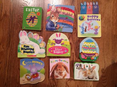 Easter board book lot