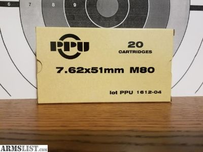 For Sale: 7.62x51mm for 10 dollars per box