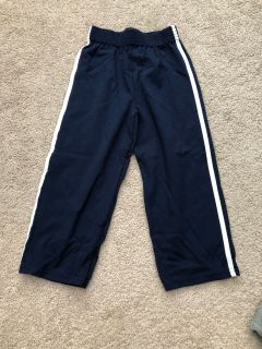 EUC Navy cotton pants sz 4T