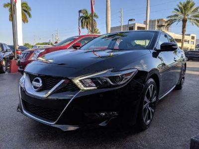 2017 Nissan Maxima 3.5 SV (Black)