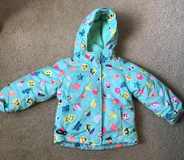 EXCELLENT CONDITION The Children s Place 3-in-one winter coat 3T