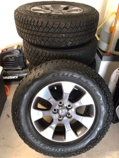 Tires and rims ( set of 4)