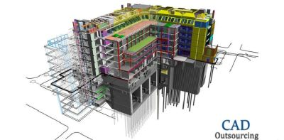 BIM Outsourcing Services - CAD outsourcing
