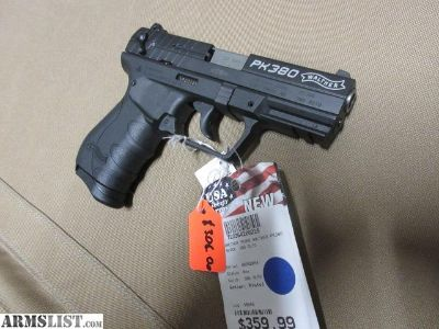 For Sale: WALTHER PK380