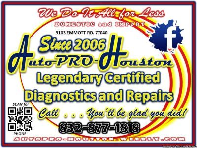 Auto Repair Shop in Spring Branch | Houston TX