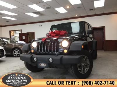 2014 Jeep Wrangler Unlimited Rubicon (Black Clearcoat)