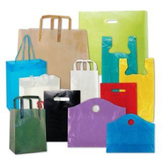 Custom Plastic Shopping Bags - iSellPackaging