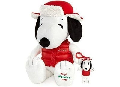 "NEW Macys Exclusive Snoopy 18"" Plush Doll Toy w BONUS Sis Belle Peanuts"