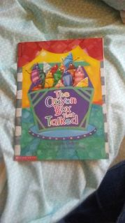 The crayon book that talked relist