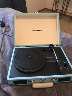 Only used once Crosley record player