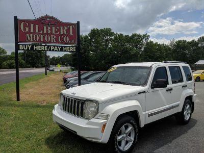 2009 Jeep Liberty Limited (White)