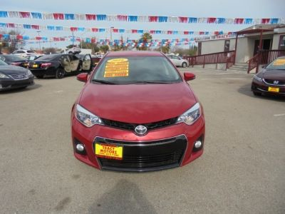 2016 Toyota Corolla 4dr Sdn CVT S w/Special Edition Pkg