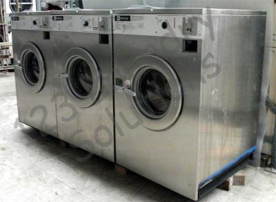 Fair Condition Maytag Front Load Washer 208-240V 60Hz 3PH MAF35MC3VS Stainless Steel