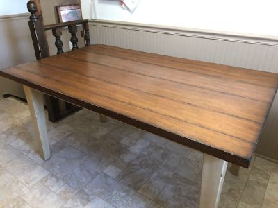 Pier One Farmhouse Kitchen Table