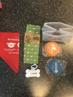 Dog supplies pick one free with purchase of any pet items off my page