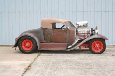 1927 Rat Rod Centerfold Magazine Car