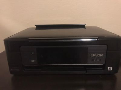 EPSON WF 2760 Wireless Color Printer/Copier/Scanner/Fax Machine