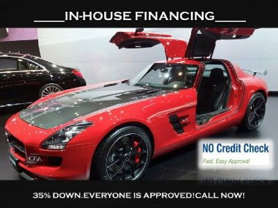 2012 MERCEDES BENZ SLS AMG GT , 35% DOWN GETS U APPROVED!!!!!!