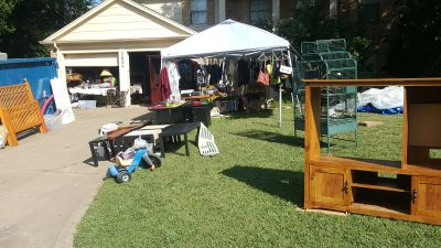 MOVING/GARAGE SALE 2634 BENNINGTON CT GRAND PRAIRIE 75052 EVERYTHING CHEAP