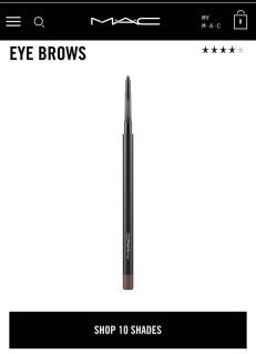 New Mac Eyebrow Pencil In Spiked