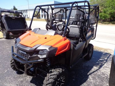 2018 Honda Pioneer 700-4 Deluxe Side x Side Utility Vehicles Sarasota, FL