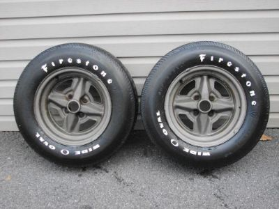 Sell 71 72 73 74 75 76 77 CHEVROLET VEGA GT WHEELS & A70-13 FIRESTONE WIDE OVAL TIRES motorcycle in East Earl, Pennsylvania, United States, for US $800.00