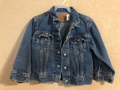 LEVI Strauss Blue Jean Jacket. Nice Condition. Size 3T