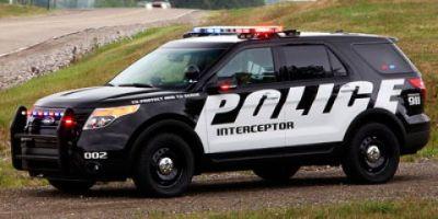 2013 Ford Explorer Police Interceptor (Black)