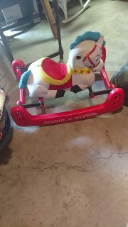 Rocking horse (needs cleaned)