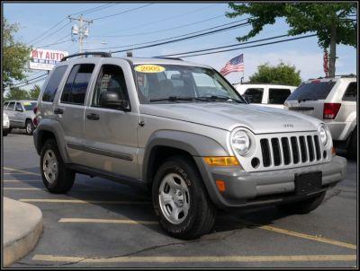 2005 Jeep Liberty Sport (Bright Silver Metallic)