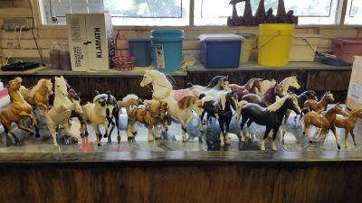 Breyer's collectable horses