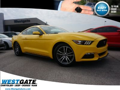 2016 Ford Mustang EcoBoost (Triple Yellow Tri-Coat)