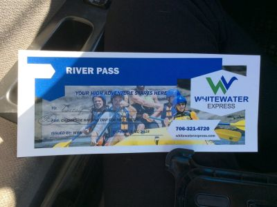 Whitewater Express Carnage Trip for 2