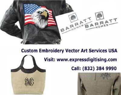 Embroidery Digitizing Services - Digitising Services & Vector Art