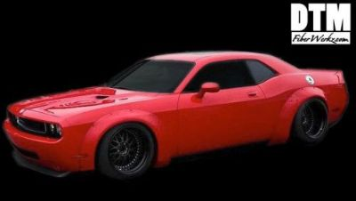 Buy 08-15 Dodge Challenger Hellcat SRT8 Widebody Rivet On FRP Fender Flares LB Style motorcycle in Northridge, California, United States, for US $1,495.00