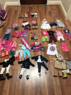 American Girl & My Generation clothes/accessories