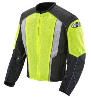 Buy Joe Rocket Phoenix 5.0 Mesh Motorcycle jacket HiVis/black (select size) motorcycle in Redford, Michigan, United States, for US $152.99