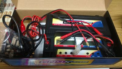 Duratrax Onxy Dual Battery Charger R/C hobbies, Remote Control batteries.