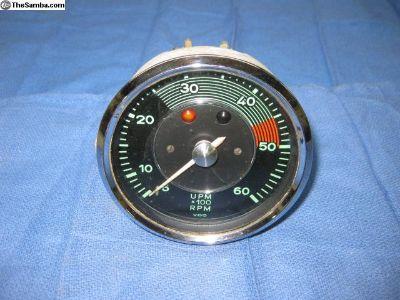 356 6,000 RPM Normal Tachometer