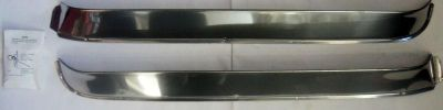 Find 73-79 Ford truck Bronco NOS WINDOW VENT VISORS STAINLESS STEEL F100-F350 RANGER motorcycle in Tipp City, Ohio, US, for US $60.00