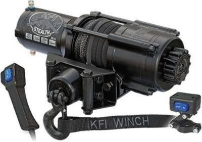 Buy KFI Stealth 4500 lbs Winch Kit Black Out Model Atv Utv Synthetic Rope motorcycle in Los Angeles, California, United States, for US $324.95